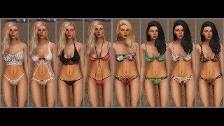 Video GTA V MODS Bikinis and Lingerie for Lana Sims 4 download MP3, 3GP, MP4, WEBM, AVI, FLV September 2018