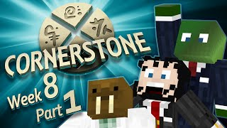 Minecraft Cornerstone -  The Courthouse (Week 8 Part 1)