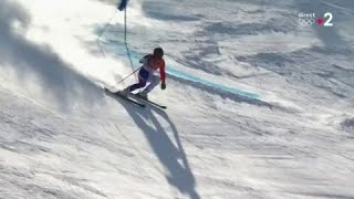 JO 2018 : Ski alpin - Slalom géant hommes. Alexis Pinturault assure