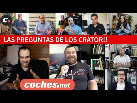 Las PREGUNTAS de CRATOR para COCHES.NET | Entrevista y Tomas Falsas | coches.net