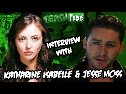 Katharine Isabelle & Jesse Moss // Interview 2015 // Hannibal // Ginger Snaps