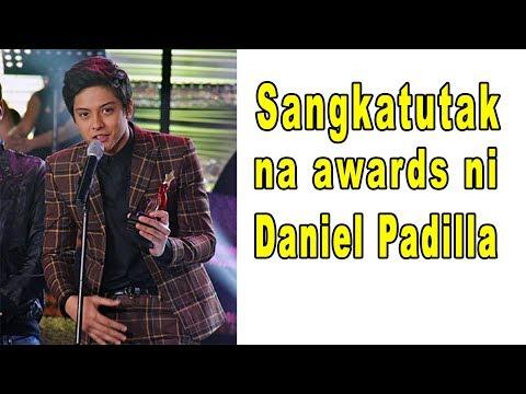 Mga awards na natanggap ni Daniel Padilla. Handa na ba kayo? Kasi ANG HABA ng listahan ko!