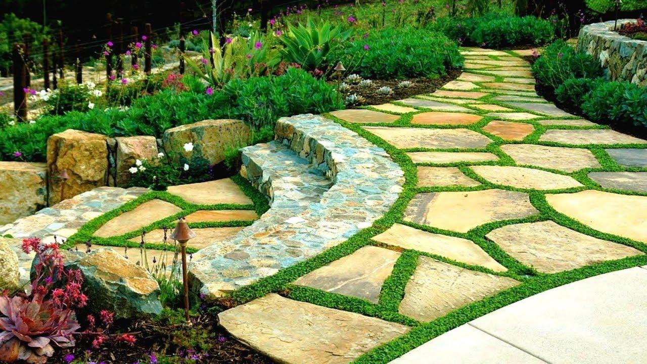 Ландшафтный дизайн 68 Классных идей красивого сада / Landscaping Ideas / A - Video