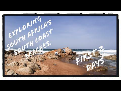 Exploring South Africa's South Coast Beaches (Hibberdene, Ramsgate, Margate) KwaZulu-Natal Day 1 & 2