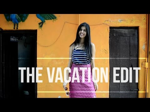The Vacation Edit: Lookbook