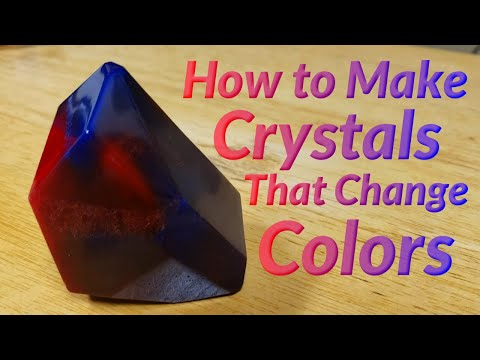 How to Make Crystals That Change Colors