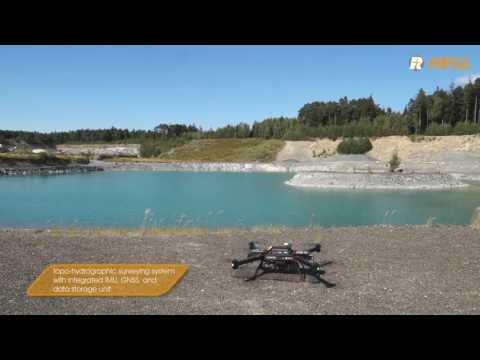 RIEGL Bathycopter sUAV based hydrographic surveying system