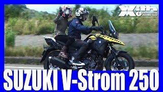 SUZUKI V-Strom 250 美環ちゃんとタンデムライドだぜ!|丸山浩の速攻バイクインプレ