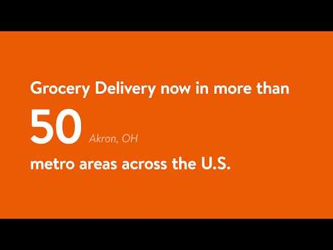 Grocery Delivery: 50 Metro Areas and Counting