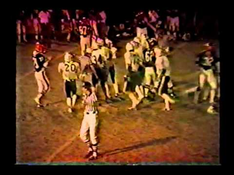 Van Buren vs West Burlington Football 1984 Part 1 of 5