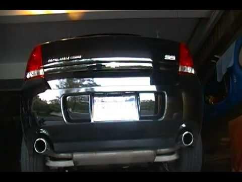 2007 Malibu Maxx Ss Exhaust Sound Stock Exhaust Slightly