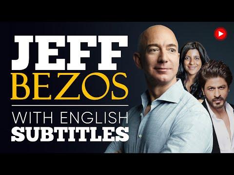 ENGLISH SPEECH   JEFF BEZOS and SRK: Amazon in India (English Subtitles)