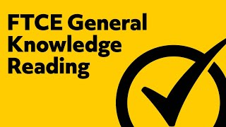 Free FTCE General Knowledge: Reading Practice Test (082)