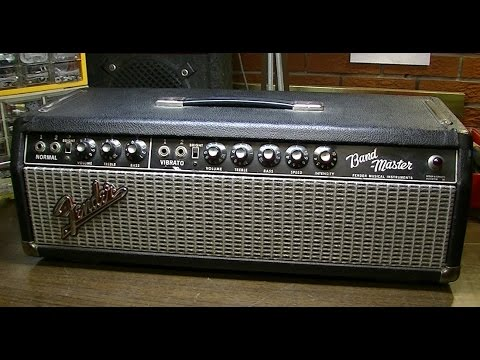 1966 Fender Blackface Bandmaster Clean, Bias & DEMO