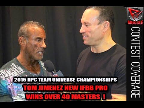 Tom Jimenez Wins Masters Over 40 At The 2015 NPC Team Universe