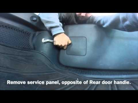 Jeep Liberty Rear Door Fix Unlock Youtube
