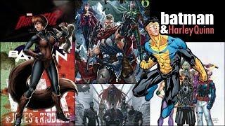 Week News: New Warriors, Batman & Harley Quinn, inhumans, Invincible y más.