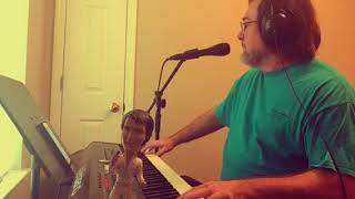 Elvis Presley Heartbreak Hotel piano cover by Tim Akins