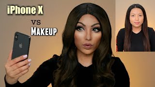 iPhone X vs Makeup Transformation (Face ID TEST) thumbnail