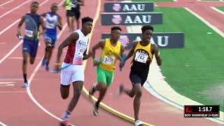 TH 13-14yr old Boy's 4x400m Relay  AAU Final