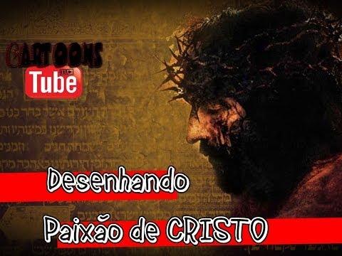 Desenhando Paixão de Cristo em Mangá DesenhoEspecial