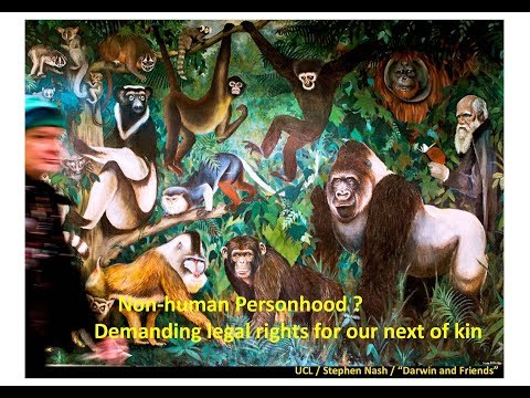 Non-human personhood? Demanding legal rights for our next of kin - Prof Volker Sommer - 24/10/2017