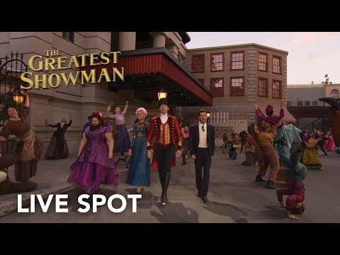 The Greatest Showman | Live Spot HD | 20th...