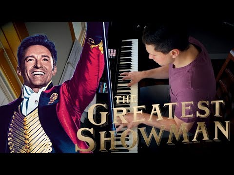 THE GREATEST SHOWMAN -  Piano Medley w Sheets