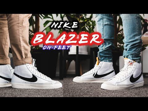 Nike Blazer Mid '77 On-feet with