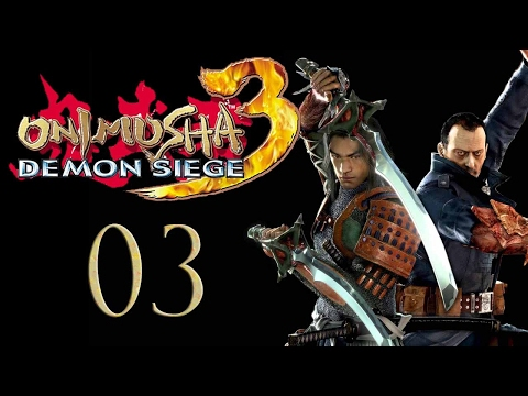 Let's Play Onimusha 3 - E03 - Flaming Sword-whip of Fiery Doom!