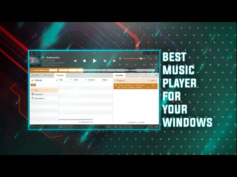 TOP 5 BEST FREE MUSIC PLAYER FOR WINDOWS 2020