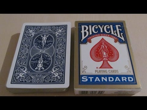 Bicycle standard playing cards - recenze from YouTube · Duration:  13 minutes 52 seconds