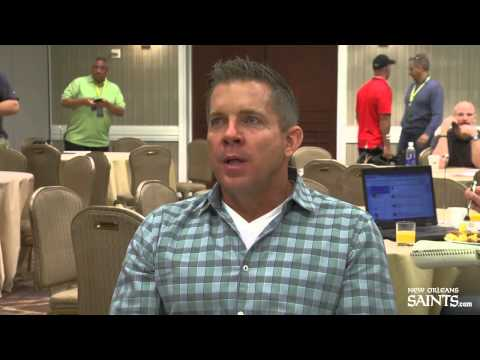 Sean Payton talks about bringing in Max Unger
