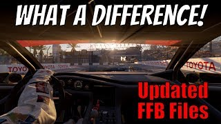 Updated FFB Files for Project CARS 2 (Best Settings and Install Guide)