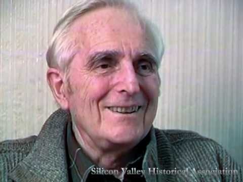 Douglas Engelbart (1925-2013), inventor of the computer mouse and visionary of the digital age.