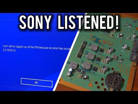 Sony verkar ha fixat CMOS-problemet I alla fall på PlayStation 4