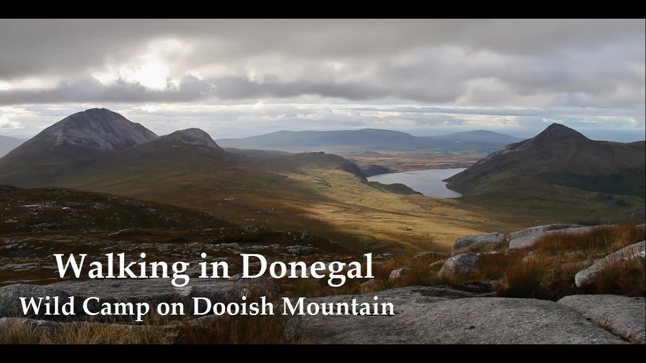 Wild Camping in Ireland | Dooish Mountain | Donegal - YouTube