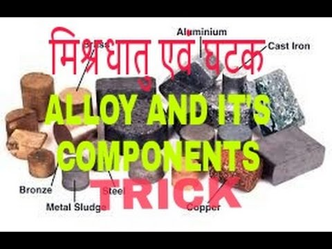 Alloy and it's component in hindi