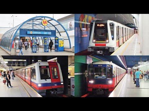 [Metro W Warszawie] Metro In Warsaw / ワルシャワのメトロ