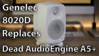 Genelec 8020D replaces AudioEngine A5+