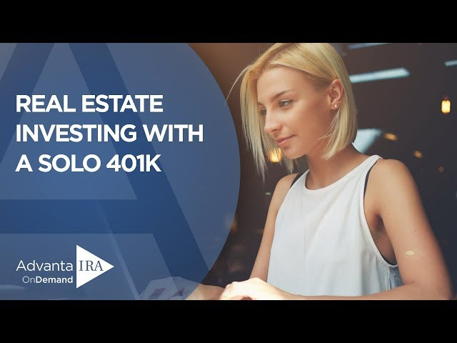 Investing in Real Estate for Retirement (with a Solo 401k)