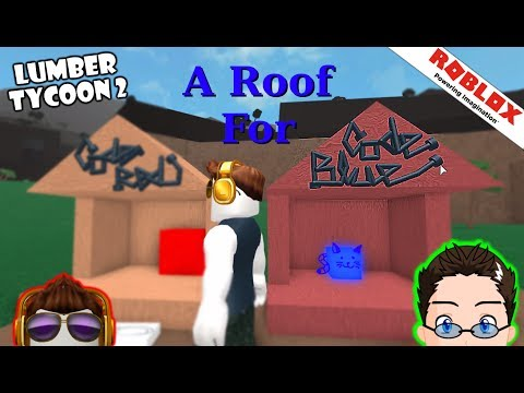Roblox - Lumber Tycoon 2 - A Roof For Code Blue
