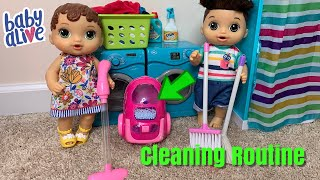 Baby Alive Abby House Cleaning Routine New vacuum cleaner