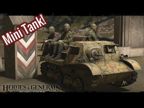 Hero's & Generals: Mini Tank!