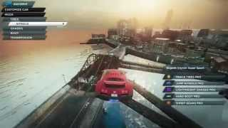 Nfs Most Wanted 2012  freaking Stunt jump! Try & share!
