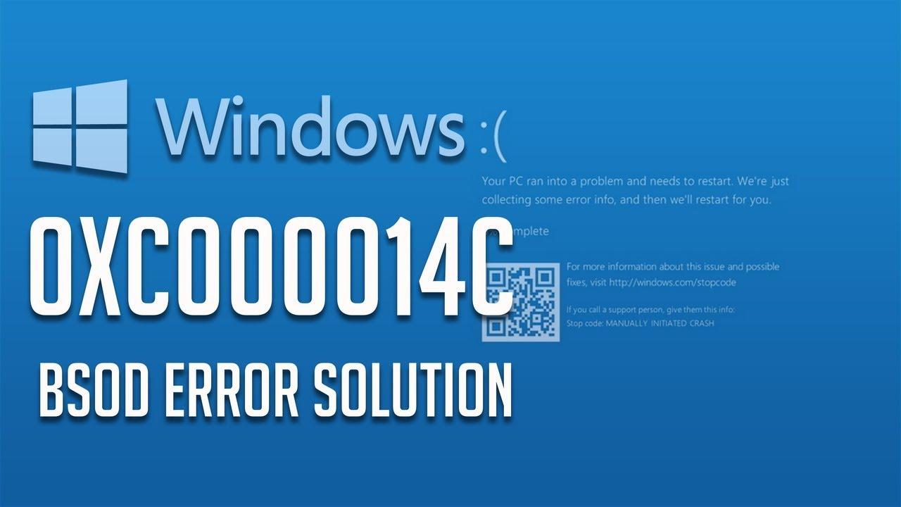 Fix Error Code 0xc000014c in Windows 10/8/7 - [4 Solutions ...