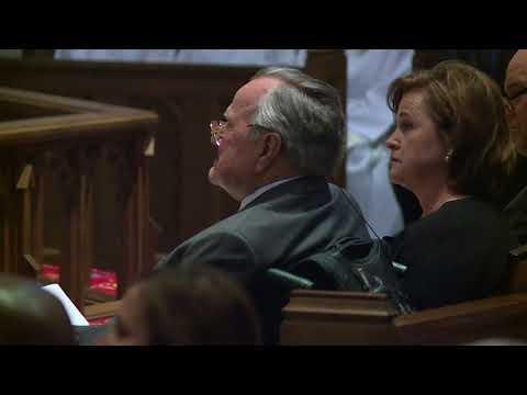 Author and presidential historian Jon Meacham eulogizes Barbara Bush