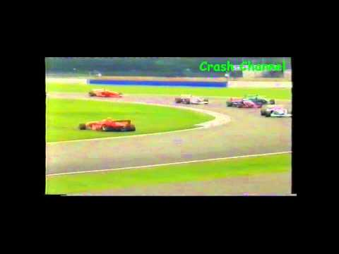 Formula Palmer Audi Joe Tandy Crash Silverstone 2005