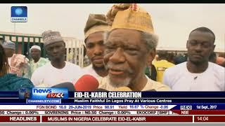 Eid-El-Kabir Celebration: Muslim Faithful In Lagos Pray At Various Centres
