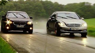BMW 7er gegen Mercedes S-Klasse (aus dem Archiv) - Throwback Thursday   auto motor und sport